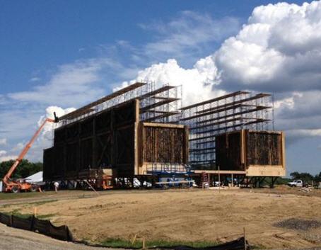 Noah is building his ark