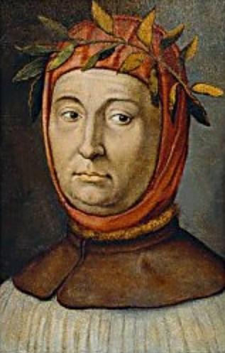 Portrait of Francesco Petrarca (1304-1374), Italian poet and humanist.