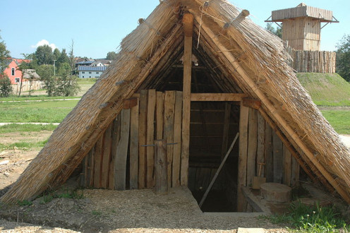 A Version Of A Pit House