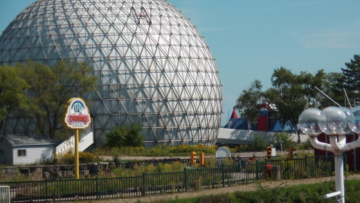 Ontario Place, currently closed