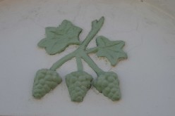 A decoration on the front of a house in the Bo-Kaap