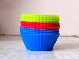 Silicone Baking Cups are used because they are heat resistant and food-safe!