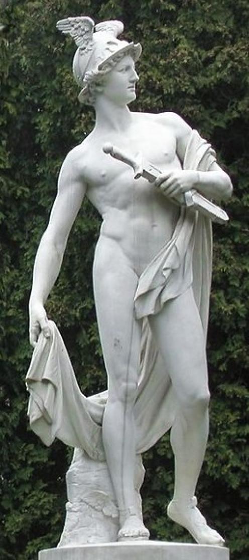 Hermes God of Athletes