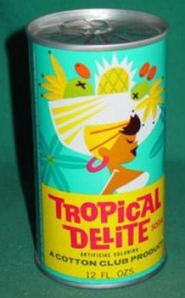 Tropical Delite fruit soda by Cotton Club