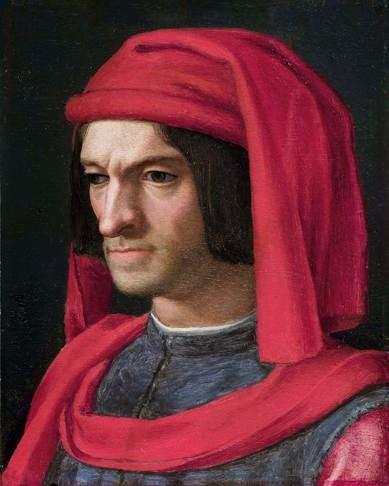 Portrait by Agnolo Bronzino http://en.wikipedia.org/wiki/File:Lorenzo_de_Medici2.jpg