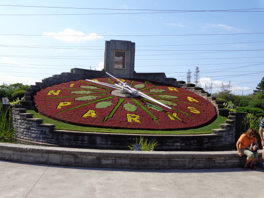 The Flower Clock, Niagara Falls