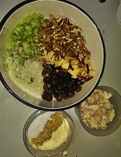 Cooking: The Best Chicken Salad Recipe You Will Ever Taste (Gluten Free) - Chunky Honey Dijon Chicken Salad