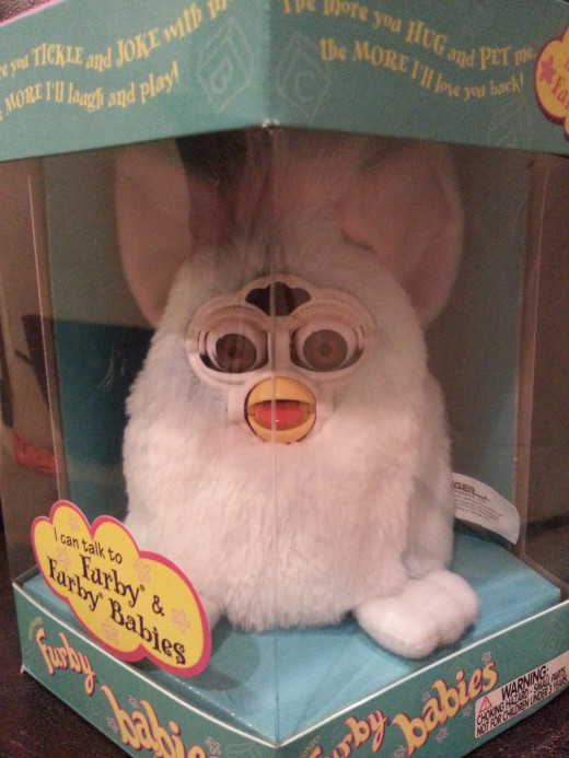 New in Package Vintage Furby (from the 90s) bought for $2, sold on Ebay for $19.99