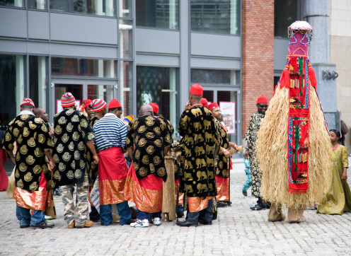 The Igbo people celebrate new yam festival all over the world and are not limited to geographical location. new yam festival in Dublin
