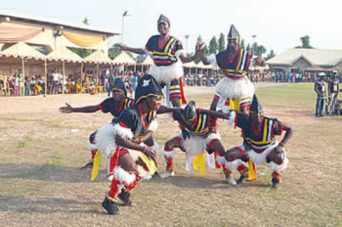 Cultural dances are part of the new yam festival