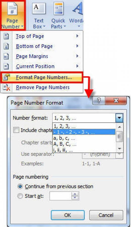 how to put number of pages in microsoft word