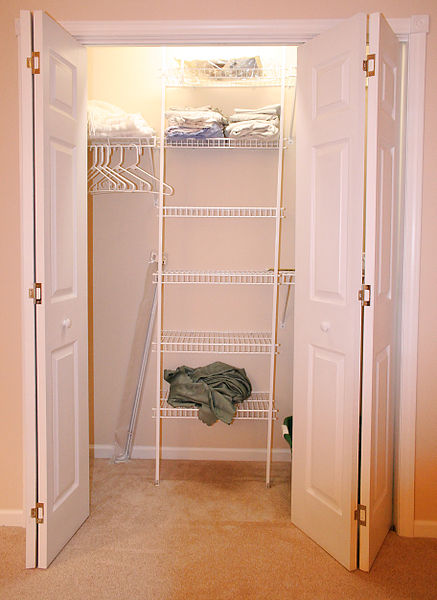 An empty closet is the blank slate for your style.