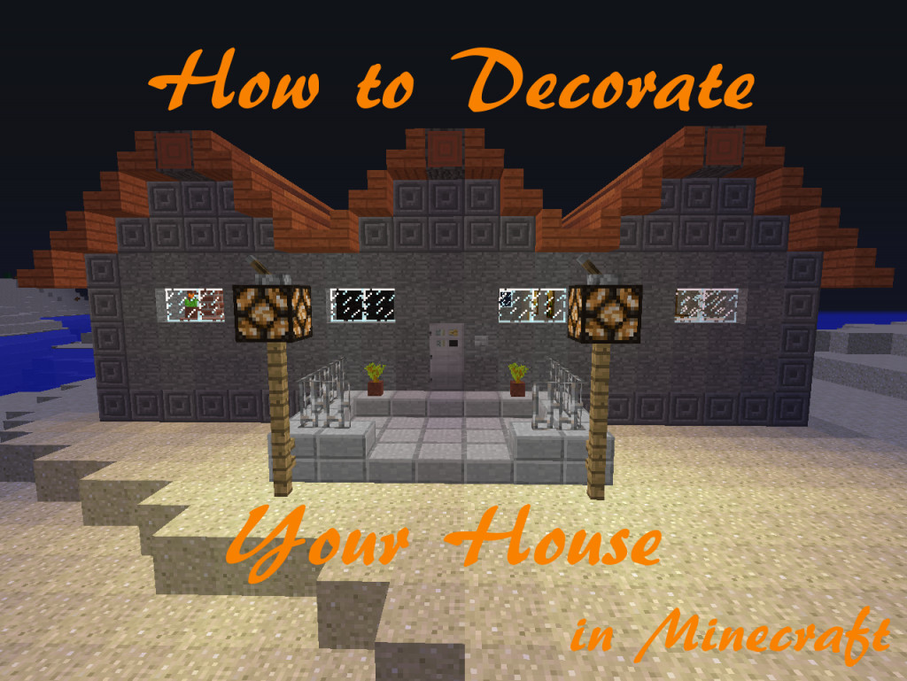 how to make cool things for your house in minecraft