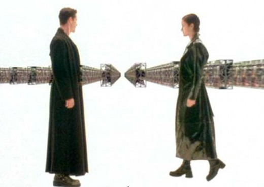 The Matrix: Or, The Movie that Forever Ruined Black Trench Coats.