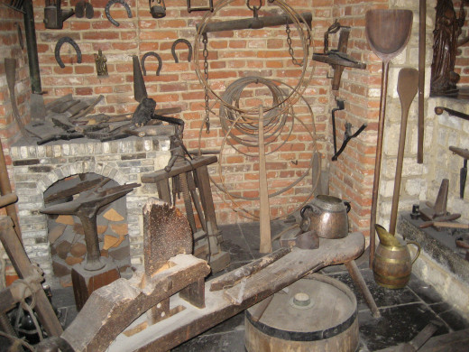 At the Masion des Brasseurs, you can see up close vintage brewing equipment.