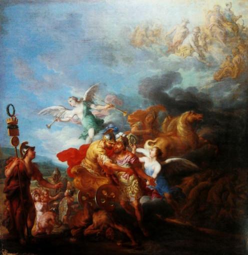 Romulus Ascending to Olympus