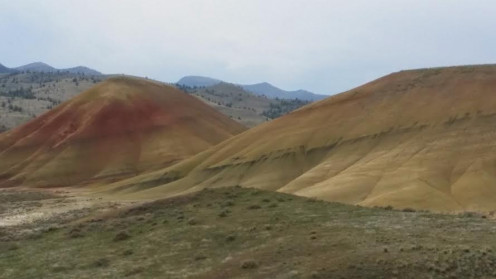 Painted Hills Oregon in March 2014