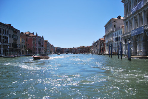 Canal Grande; so grand and beautiful in the sun. Source; my own photos.