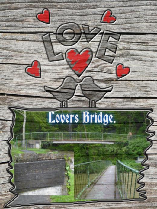 Lovers Bridge in Aberaeron the seaside town where I grew up.