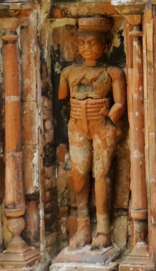 Terracotta Dwarpal (Gatekeeper)  3