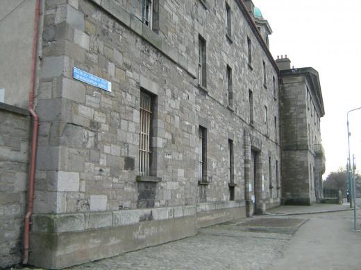 Grangegorman Prison in Dublin Ireland