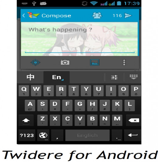 Twitter client app for android Twidere