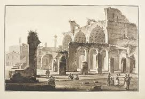 Ruins of Bascilica Constantiniana