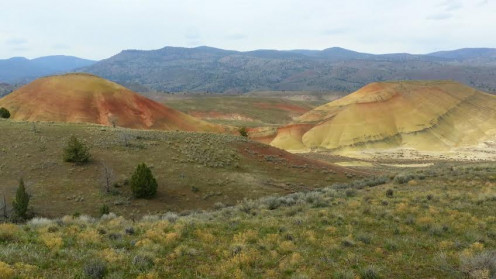 So many gorgeous views at the Painted Hills in Oregon