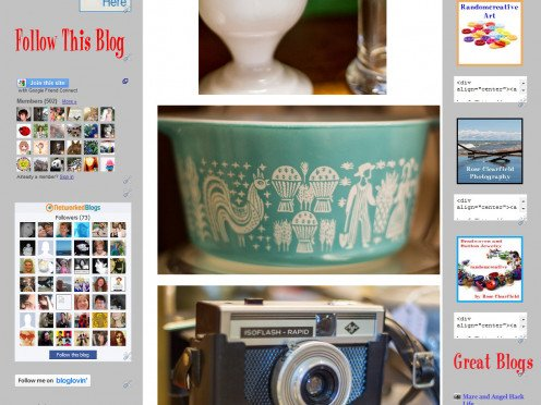 I post regular photo features on my blog, which is a great way to get feedback on my work from my readers.