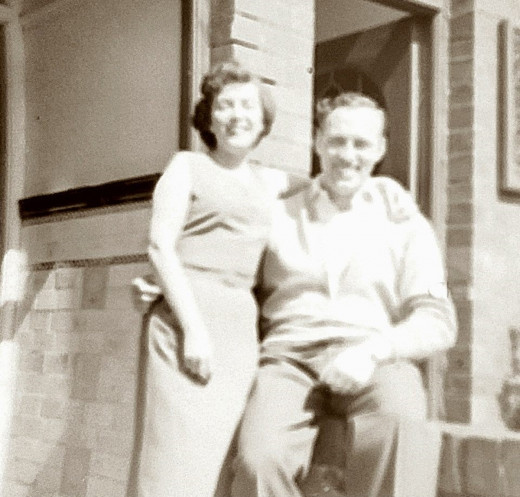 Mum and dad in their younger days.