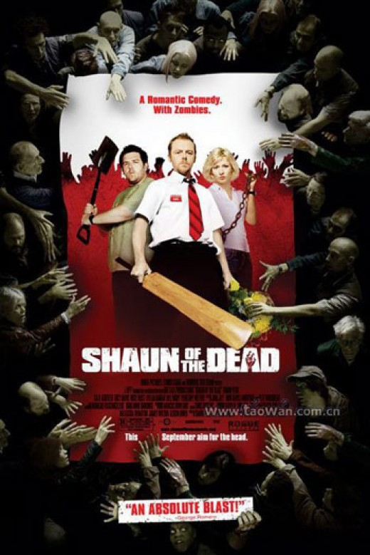 Shaun Of The Dead, a send up of Zombie movies, and a damn good Zombie movie in it's own right.