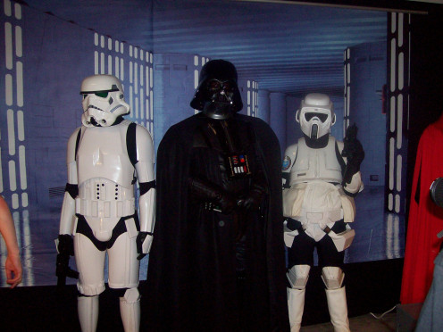 Dearth Vader and the Storm Troopers