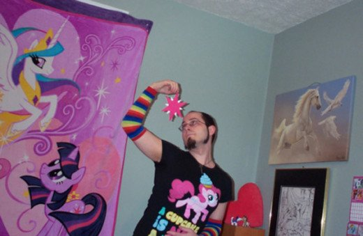 This is what a Brony looks like.