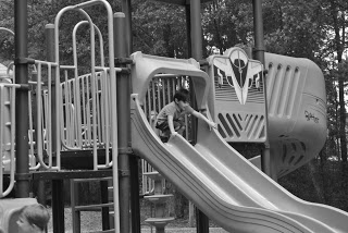 While the kids play, the park offers parents a chance to get away from some stress.