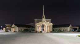 First Church of Pearland, Texas. A Pentecostal church pastored by Ken Gurley.