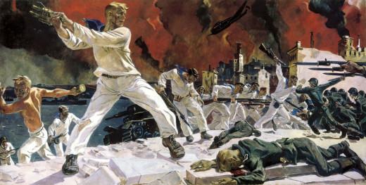 The battle of Sevastopol