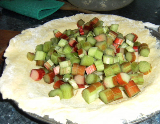 Rhubarb Pie Recipe