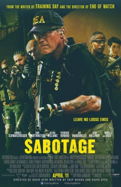 New Review: Sabotage (2014)