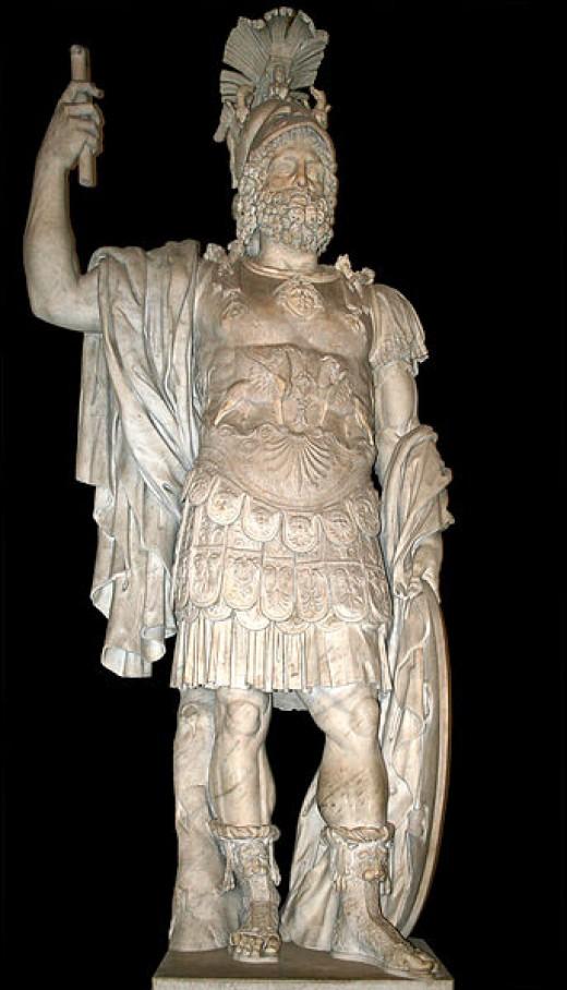 Statue de Mars (Pyrrhus),  Musei Capitolini