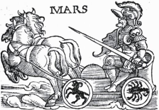 Mars 's glyph