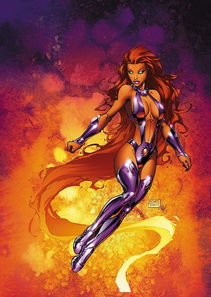 Starfire Courtesy DC Comics