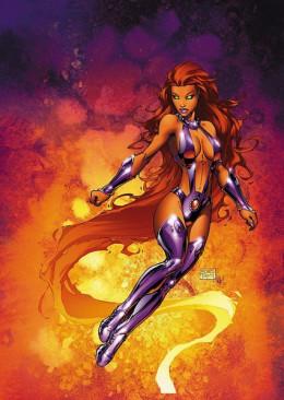 Starfire Courtesy DC Comics