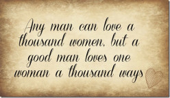 Why a Man Loves a Woman