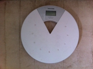 Weighing yourself regularly can be motivating