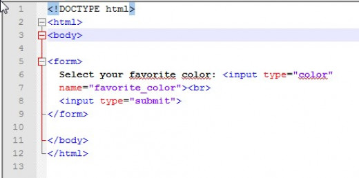 This is the code for the example above.