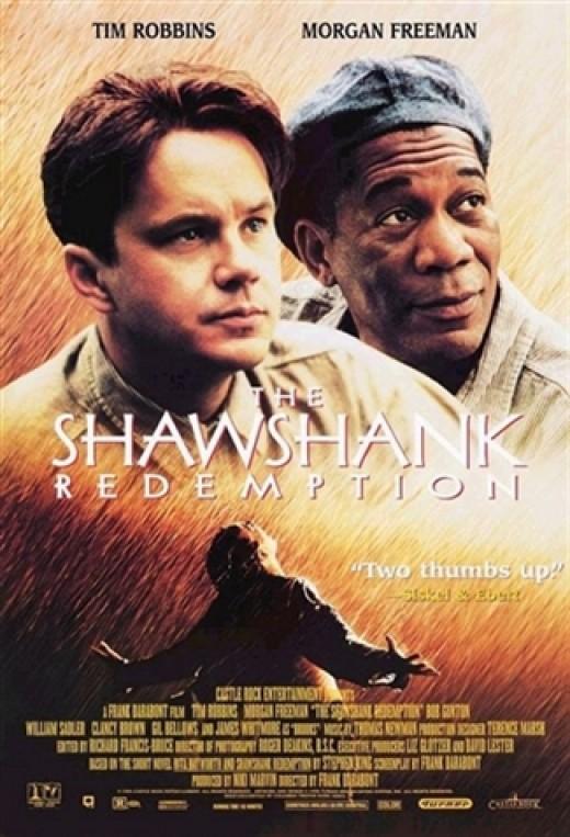 The Shawshank Redemption movie poster.