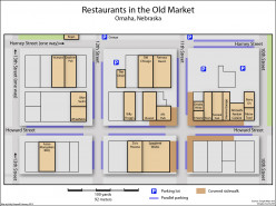 The more you know Downtown Omaha Old Market Restaurant Map