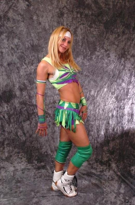 Indy wrestler, Daizee Haze