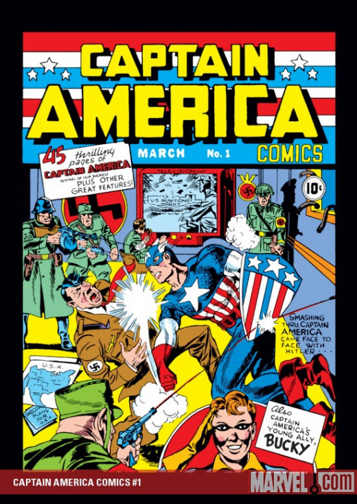 Captain America #1 - Published March 10th 1941