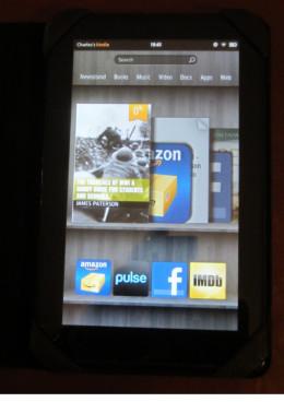 eBook on Kindle Fire